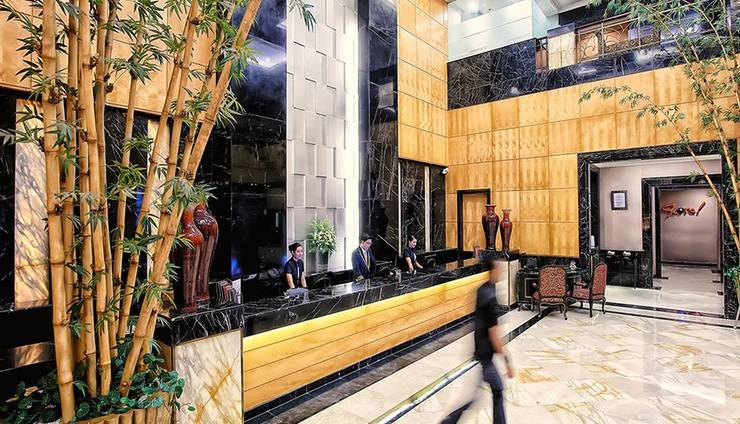 Hotel Grand Jatra Pekanbaru - Lobi