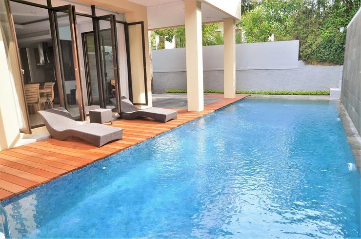 3 BR City View Villa with a private pool 2 Bandung - Kolam Renang