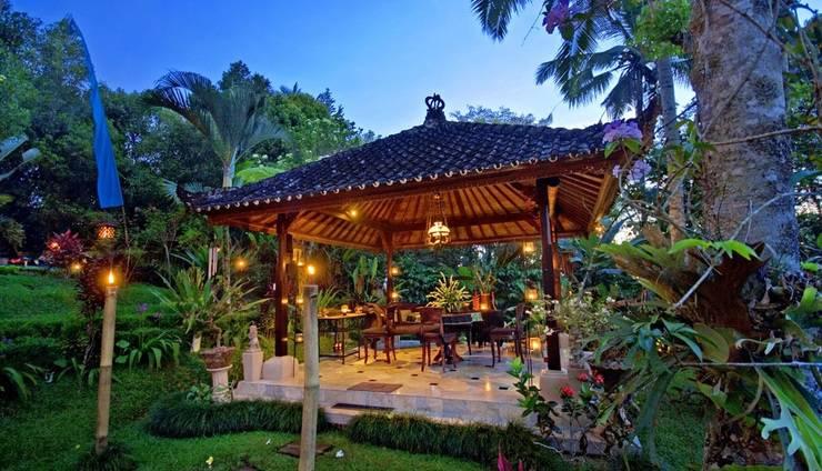 The Mahogany Villa Bali -    Ruang tamu