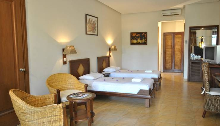 Mutiara Carita Cottages Pandeglang - Suite Room Hotel (Twin Bed)