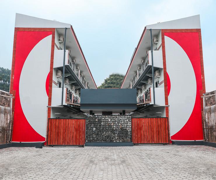 OYO 488 Tekno Residence Tangerang Selatan - Facade