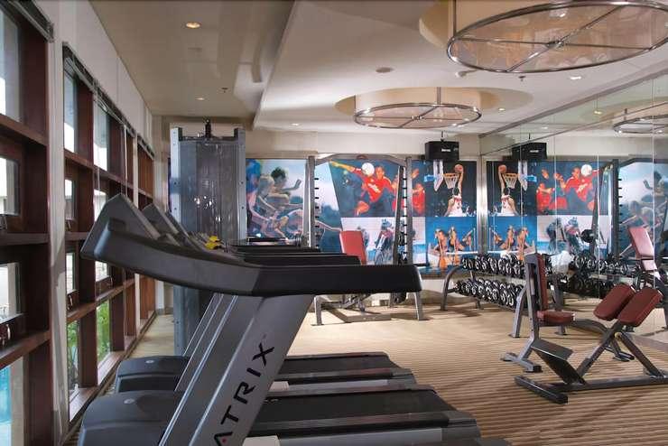 Hotel Santika Pontianak - Fitness Facility