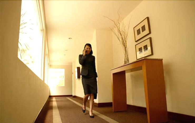 Hotel Santika Pontianak - Hallway