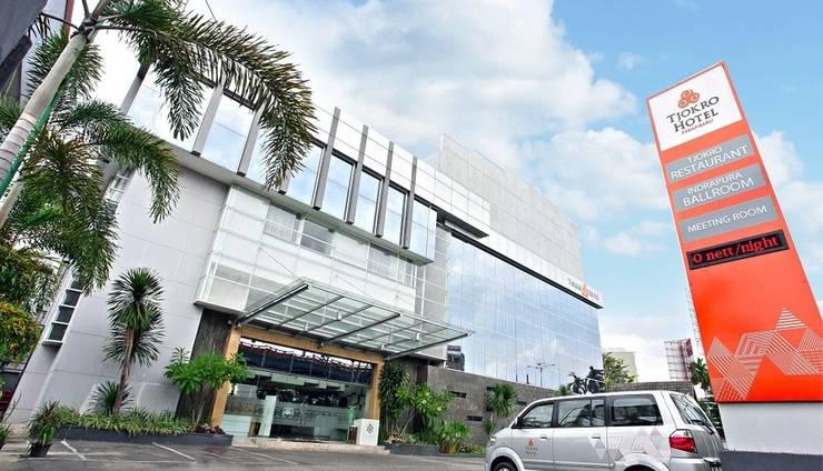 Tjokro Hotel Pekanbaru - luar hotel