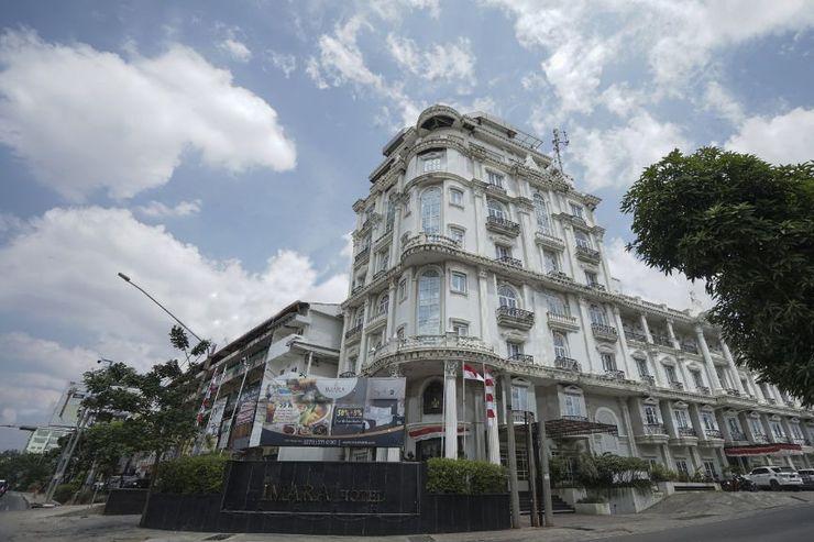 Capital O 1128 Hotel Imara Palembang - Facade