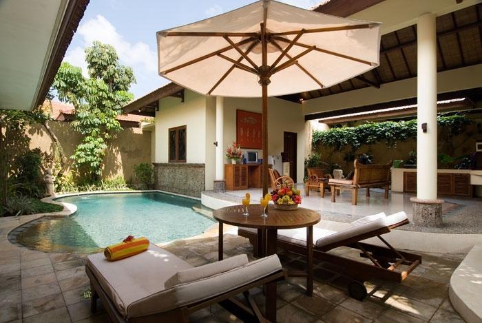 Putri Bali Villa Bali - Kolam Renang