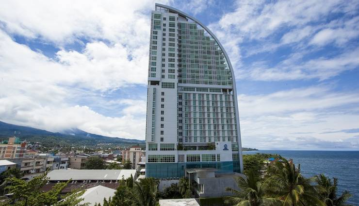 Best Western The Lagoon Hotel Manado - Gedung tertinggi dengan design modern yang terletak di tengah kota dengan pemandangan terbak