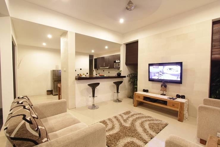 The Adnyana Villas & Spa Bali - Ruang Keluarga Villa (11/Feb/2014)