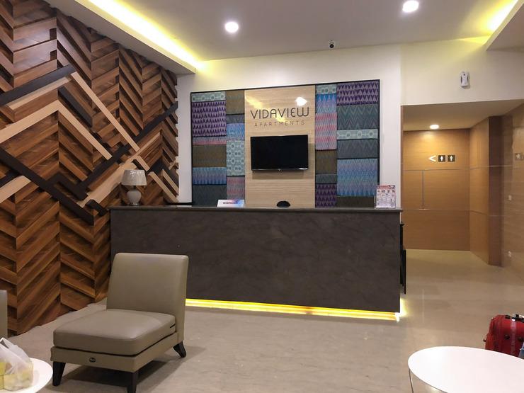 Apartment Vida View By Roomz Makassar - Lobby