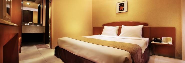 Hotel Nyland Cipaganti - Deluxe Tempat Tidur Double