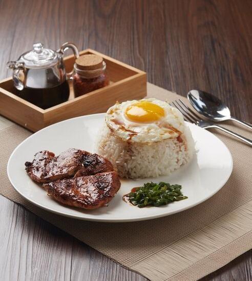 Hotel Nyland Cipaganti - Lemongrass Chicken & Fried Egg