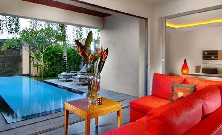 Bali Island Villa Bali - Ruang tamu