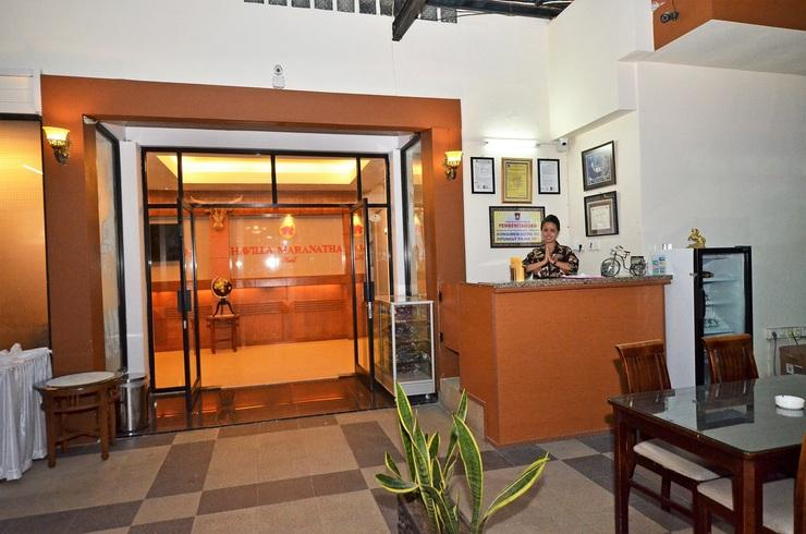 Havilla Maranatha Hotel Padang - Resepsionis
