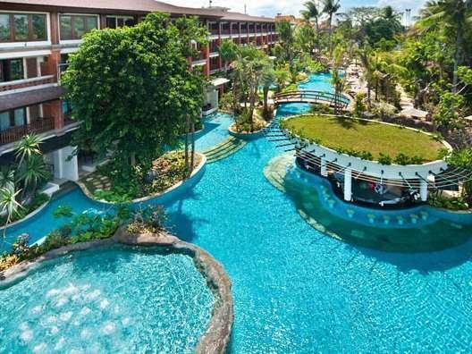Padma Resort Bali at Legian Bali - Lagoon Pool