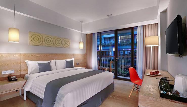 Neo+ Kuta Legian - Neo+ Kuta Legian Bedroom Superior 1 Double