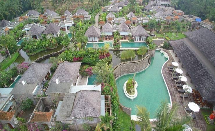 Visesa Ubud Resort Bali - Pemandangan