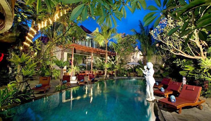 The Bali Dream Villa Resort Echo Beach Canggu Bali - Kolam Renang
