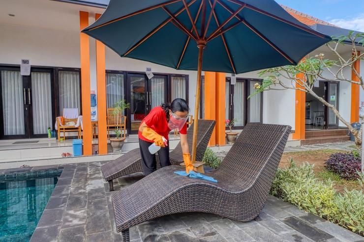 JnJ Guest House Bali - Disinfektan