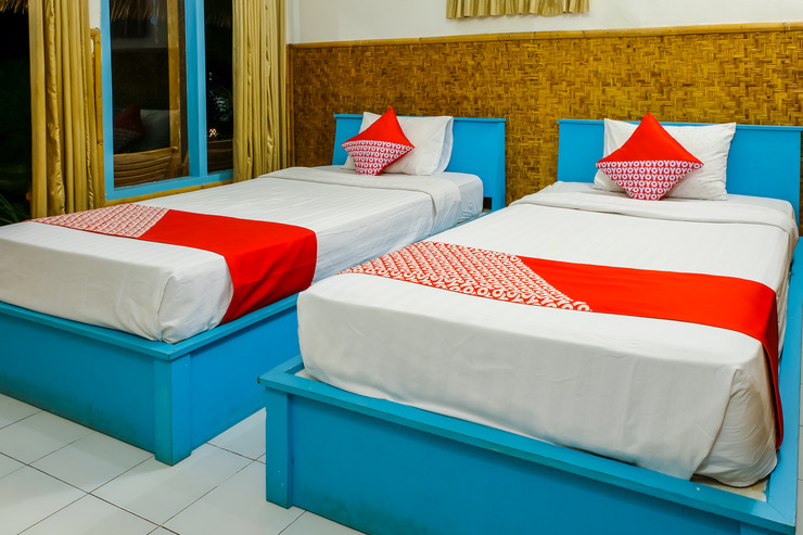 OYO 1127 Orong Villages Bungalows and Beach Restaurant Lombok - Bedroom