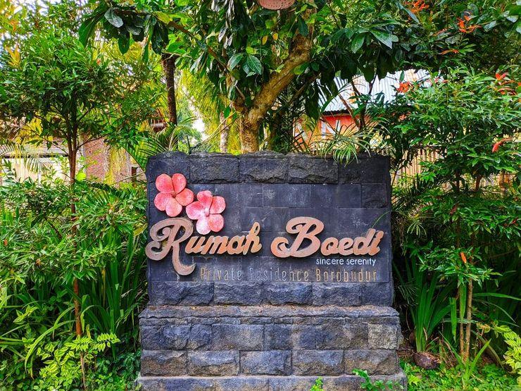 Rumah Boedi Private Residence Borobudur Magelang - Exterior