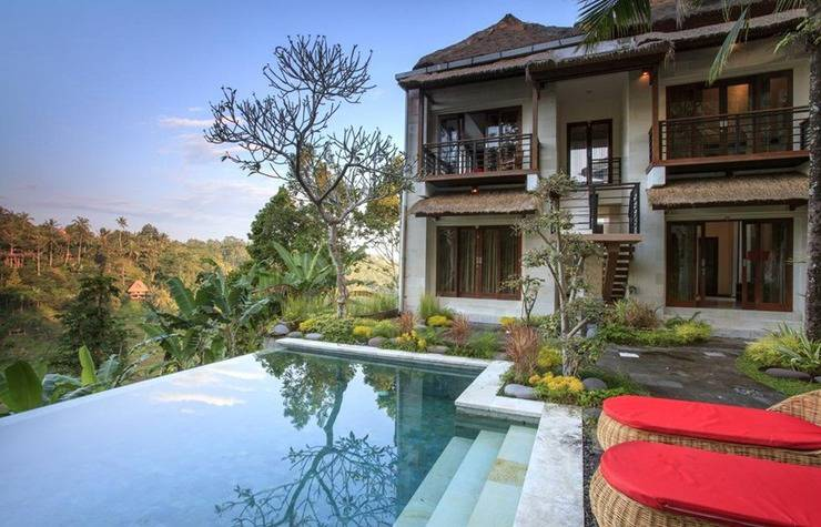 Green View Private Villas Ubud - Kolam Renang