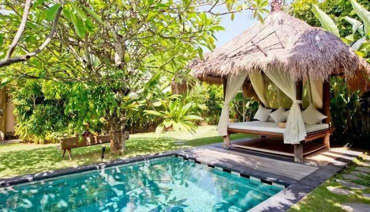 Ku Villa Bali - Kolam Renang