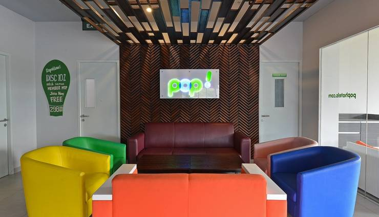POP! Hotel Banjarmasin - Lobby Lounge