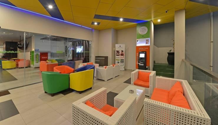 POP! Hotel Banjarmasin - Lounge area