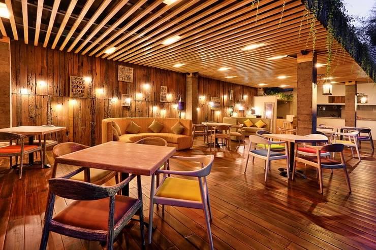 Pandawa All Suite Hotel Bali - Restoran Kolam Renang