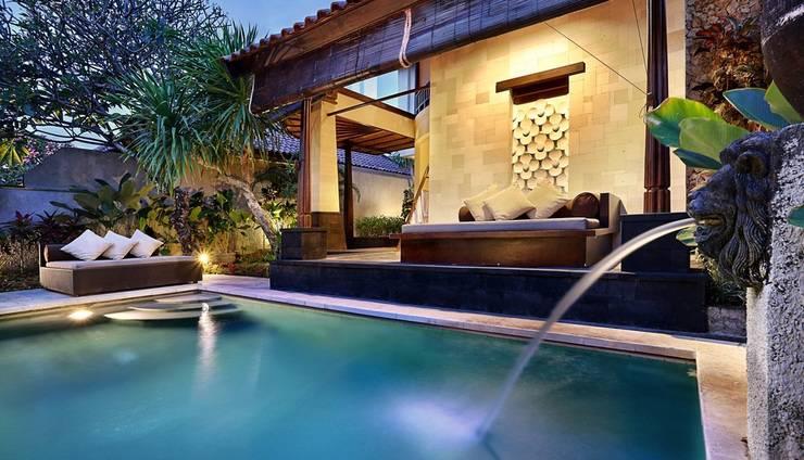 The Club Villas Bali - Dua Kamar, kolam pribadi