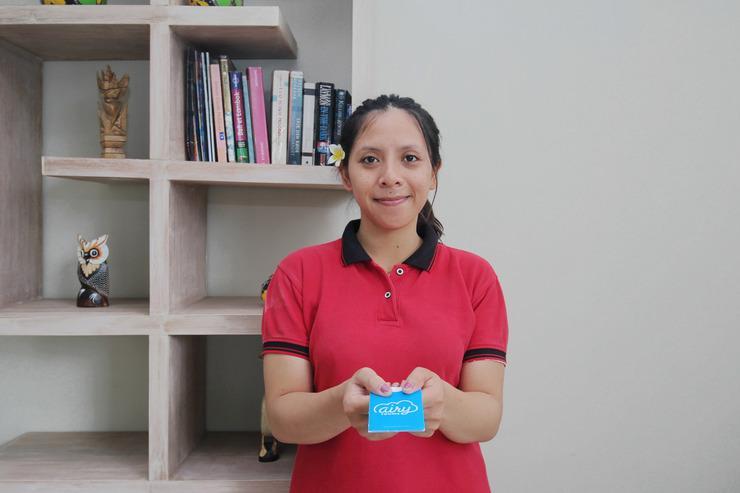 Airy Sanur Bypass Ngurah Rai Gang Merpati 7B Bali - Receptionist