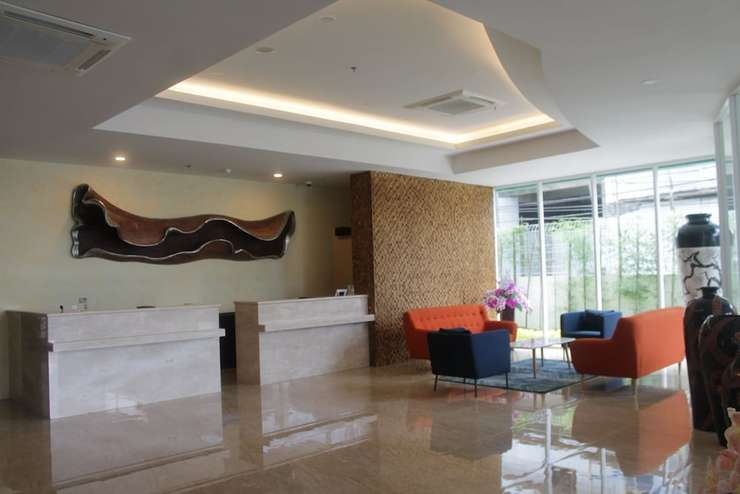 Grand Orchid Hotel Jogja - Lobby Sitting Area