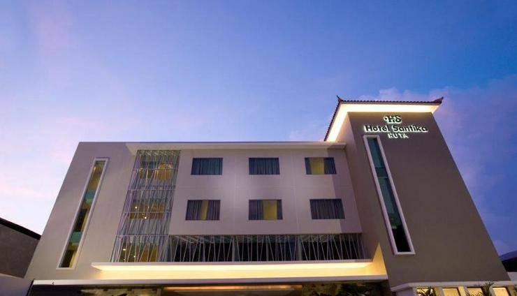 Hotel Santika Kuta Bali - Tampak Luar