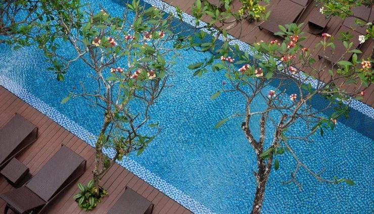 Hotel Santika Kuta Bali - Kolam Renang