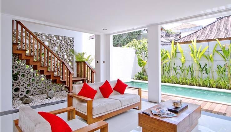 Delu Villas and Suite Bali - Tiga kamar tidur vila kolam renang pribadi
