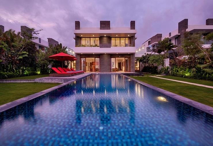 Kutus Kutus Keramas Villa Bali - Pool