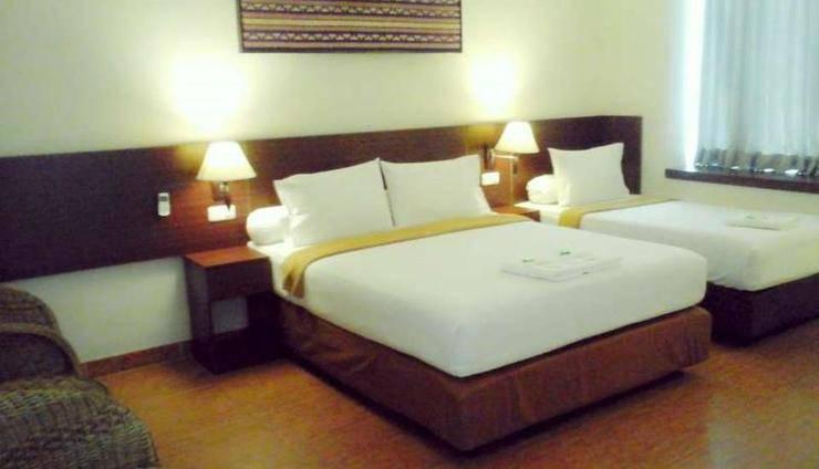 De Green City Hotel Bandar Lampung - Kamar tamu