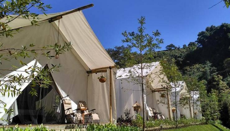 Maribaya Glamping Tent Bandung - Exterior