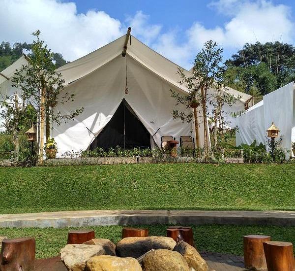 Maribaya Glamping Tent Bandung - Deluxe Tent