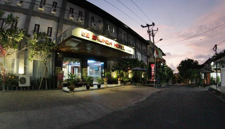 Shunda Hotel Bali - hotel tampak depan