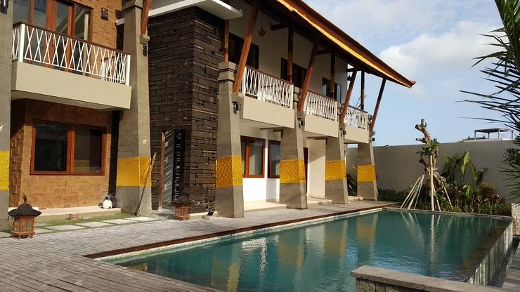 D'Djabu Guest House Echo Beach Bali - Balcony