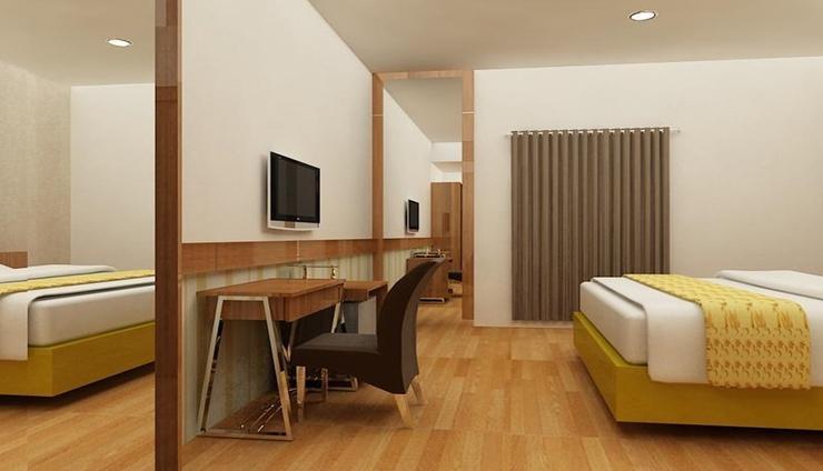 Hotel Salam Asri Kudus - Bedroom