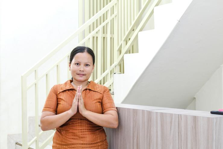 Airy Eco Medan Sunggal Sei Ular Baru Nusa Town 1 - Reception