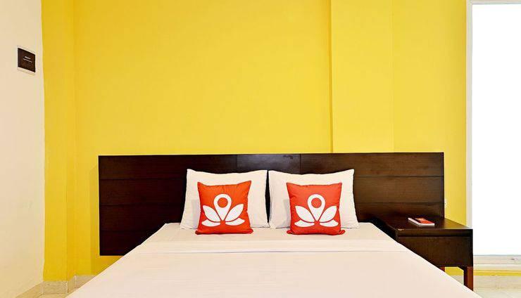 ZenRooms Prime Taman Siswa Yogyakarta - Tampak tempat tidur double