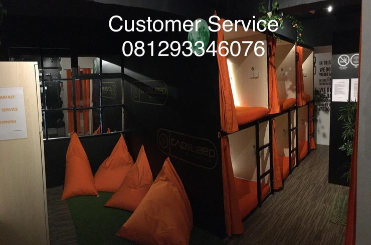 Capsleep Cihampelas Bandung - Front Office