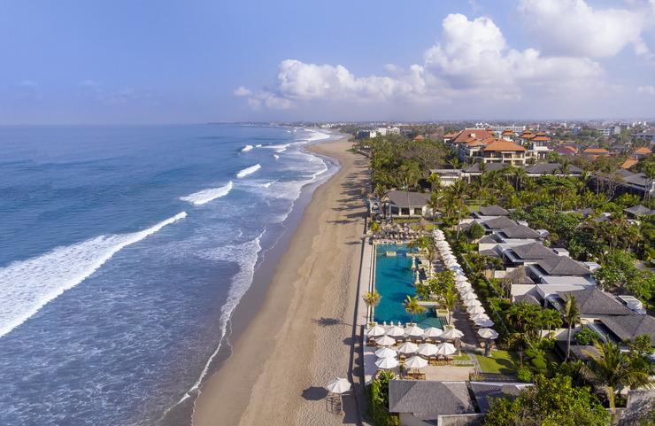 Seminyak Beach Resort Bali - Aerial View
