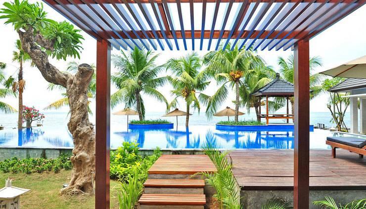 Padmasari Resort Lovina Bali - Kolam renang Pemandangan Laut