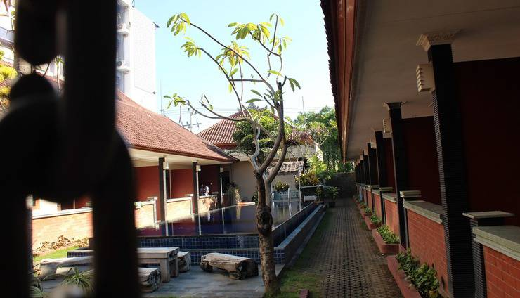 Puri Ganesh Bali - Pekarangan