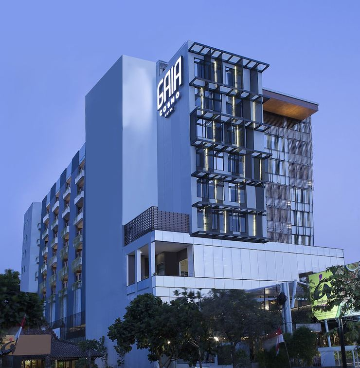 GAIA Cosmo Hotel Jogja - Front of Property - Evening/Night