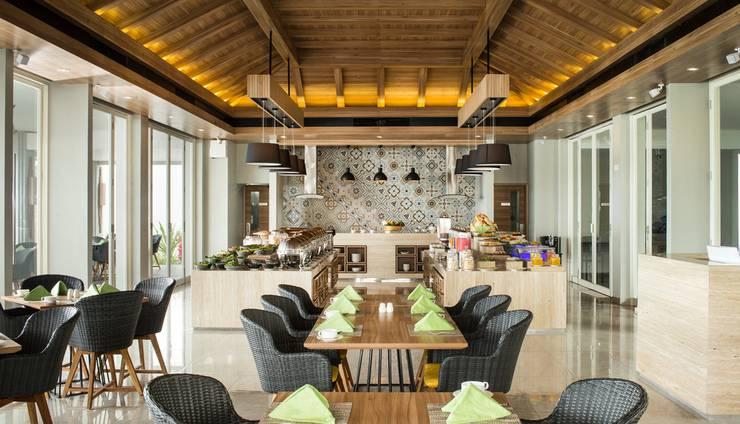 Santika Premiere Beach Resort Belitung Belitung - Restaurant